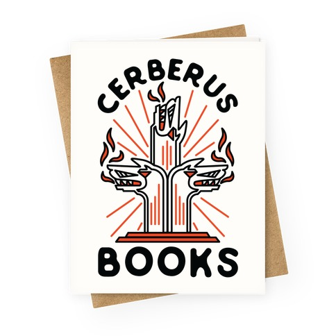Cerberus Books Greeting Card