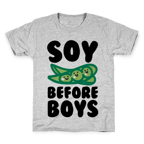 Soy Before Boys  Kids T-Shirt