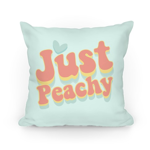 Just Peachy Pillow