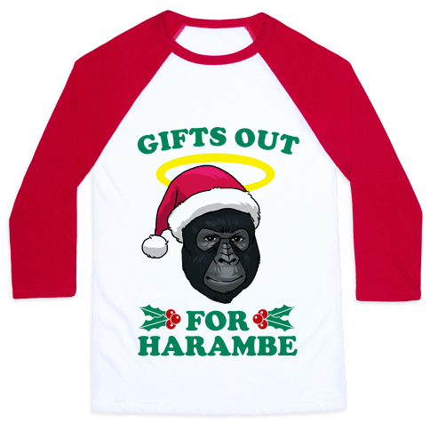 Gifts Out for Harambe Baseball Tee