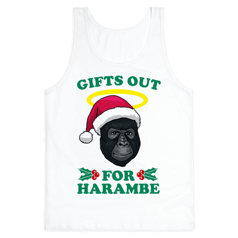 Gifts Out for Harambe Tank Top
