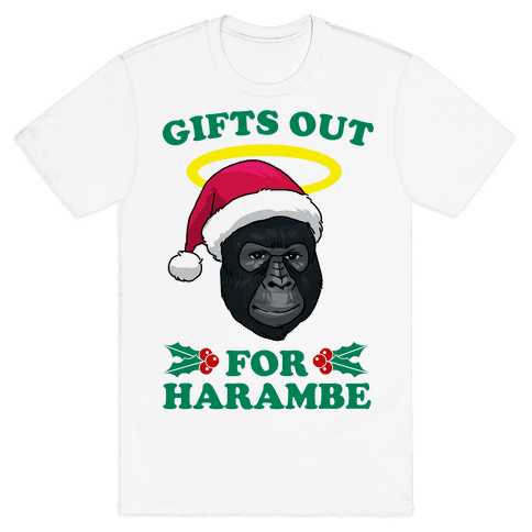 Gifts Out for Harambe Mens T-Shirt