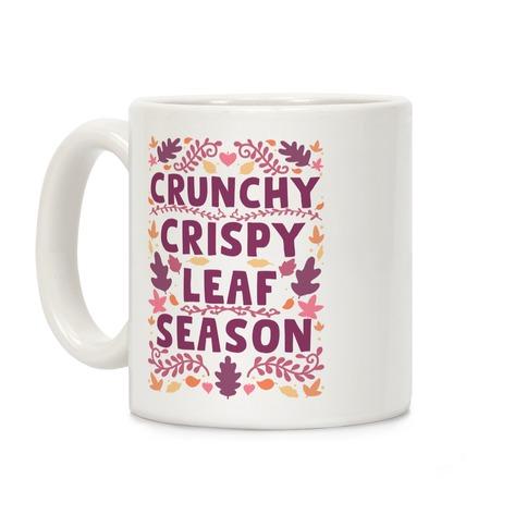 Crunchy Crispy Leaf Season Coffee Mug