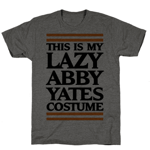 This Is My lazy Abby Yates Costume