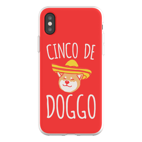 Cinco De Doggo Phone Flexi-Case