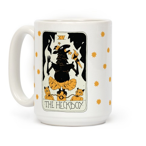 The Heckboy Tarot Card Coffee Mug