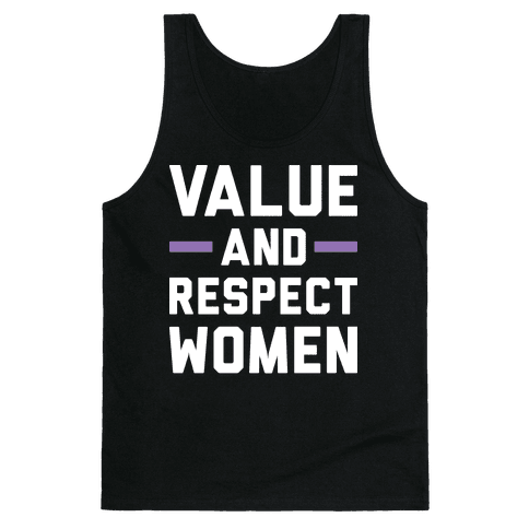 Value And Respect Women Tank Top