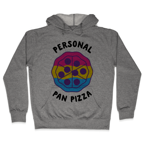 Personal Pan Pizza Hooded Sweatshirt