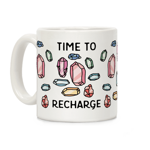 Time To Recharge Coffee Mug