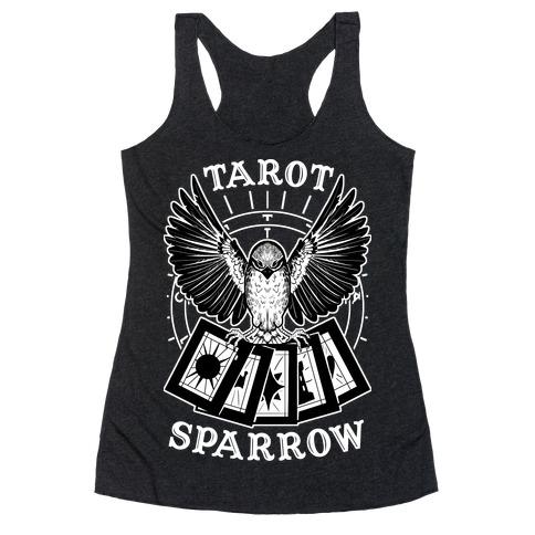 Tarot Sparrow Racerback Tank Top