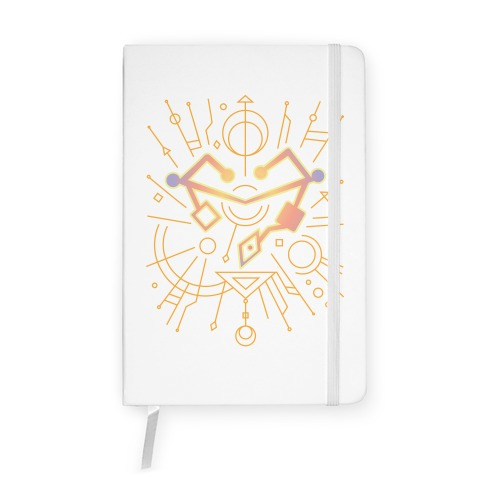 Heart of Etheria Fail Safe Emblem  Notebook