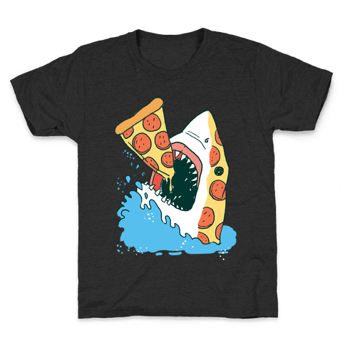 Pizza Shark Kids T-Shirt