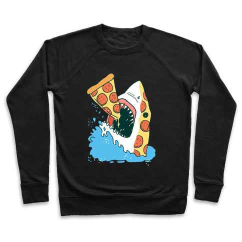 Pizza Shark Pullover