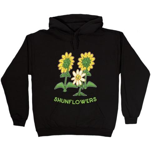 Shunflowers Hooded Sweatshirt