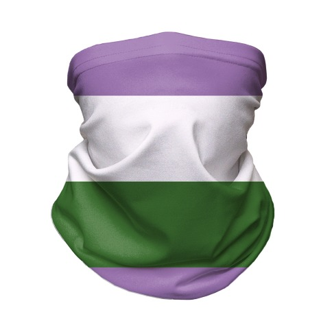 Gender Queer Pride Flag Neck Gaiter