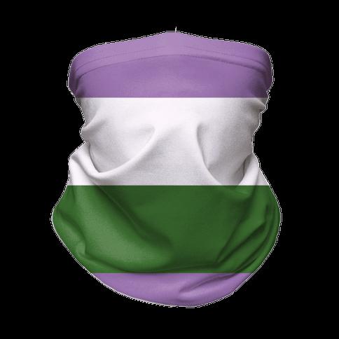 Gender Queer Pride Flag Neck Gaiter
