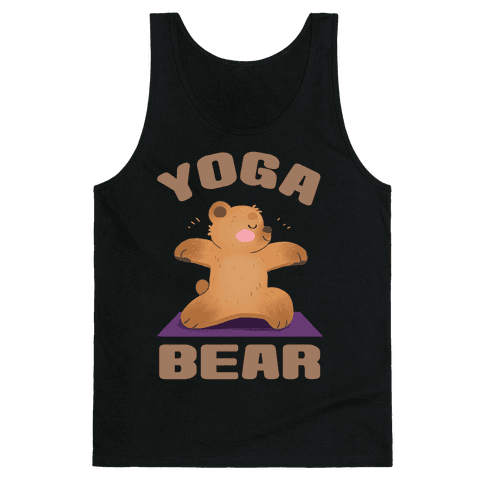 Yoga Bear Tank Top