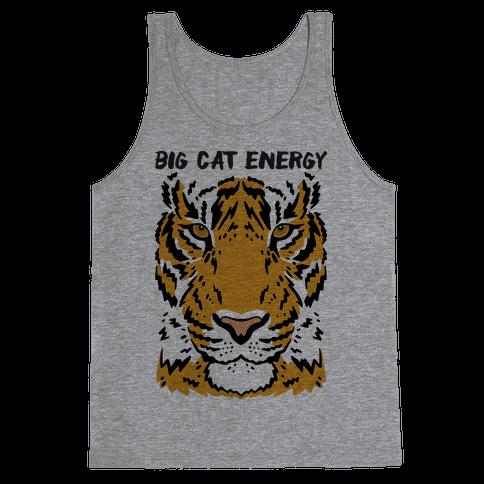 Big Cat Energy Tiger Tank Top