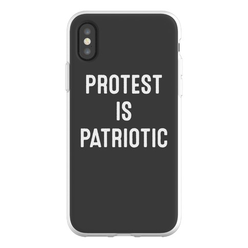 Protest Is Patriotic Phone Flexi-Case