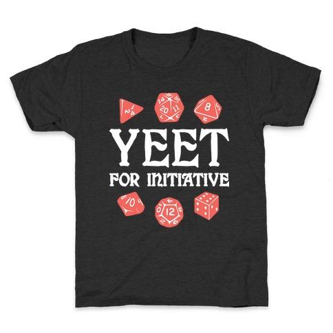 Yeet For Initiative Kids T-Shirt