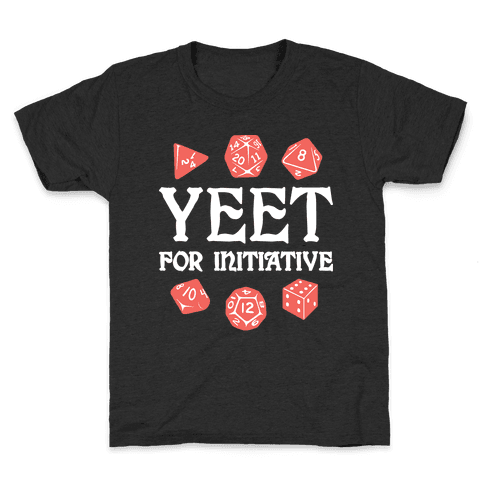 Yeet For Initiative Kids T-Shirt