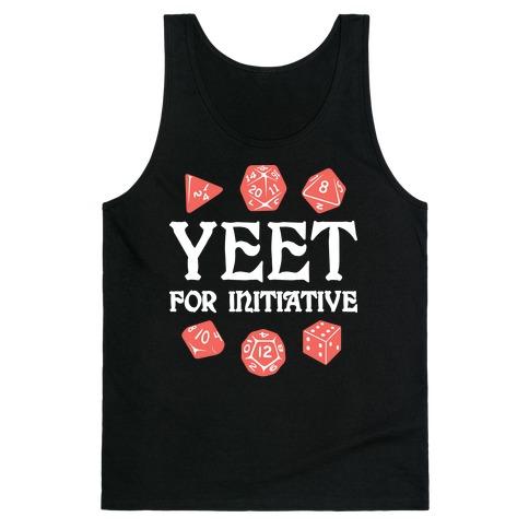Yeet For Initiative Tank Top