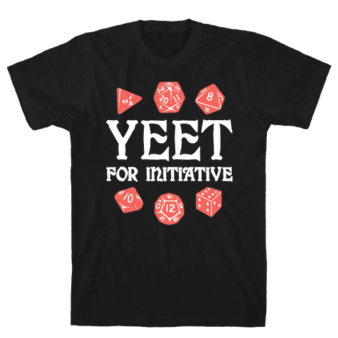 Yeet For Initiative Mens/Unisex T-Shirt
