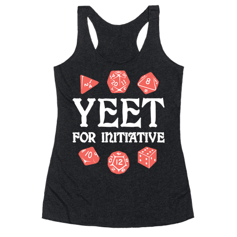 Yeet For Initiative Racerback Tank Top