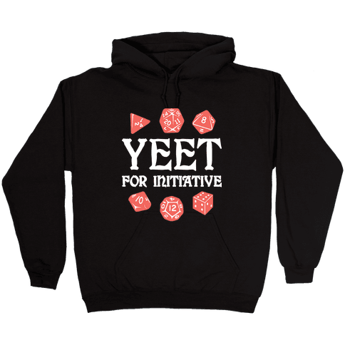 Yeet For Initiative Hooded Sweatshirt