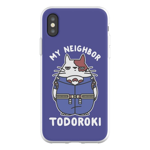 My Neighbor Todoroki Phone Flexi-Case