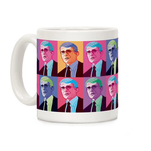 Anthony Fauci Pop Art Coffee Mug