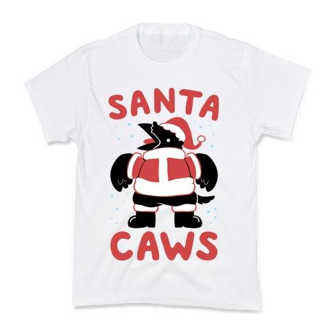 Santa Caws Kids T-Shirt