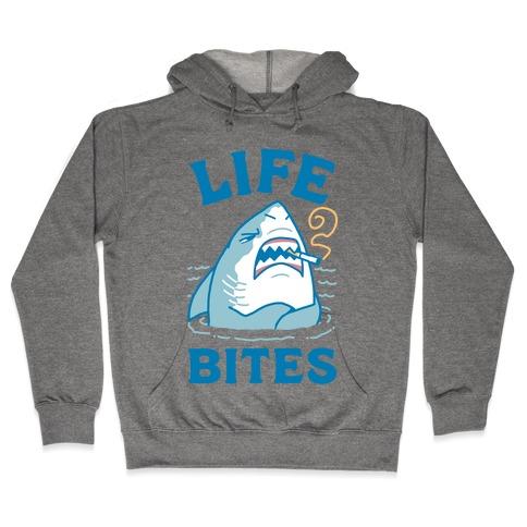 Life Bites Hooded Sweatshirt