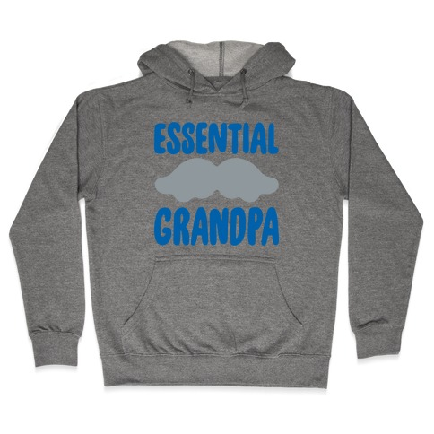 Essential Grandpa  Hooded Sweatshirt