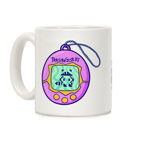 Trashagotchi (Raccoon) Coffee Mug