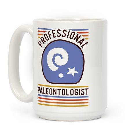 Professional Paleontologist Coffee Mug