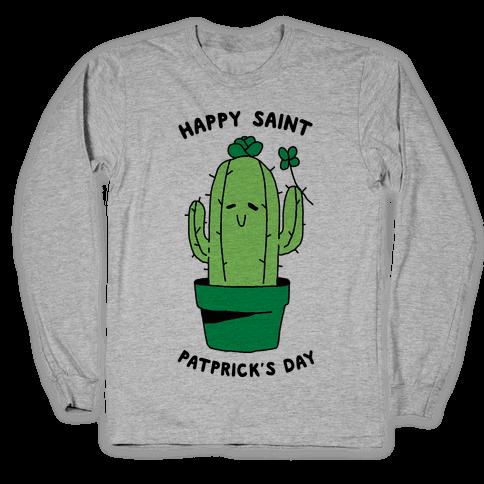 Happy Saint Patprick's Day Long Sleeve T-Shirt