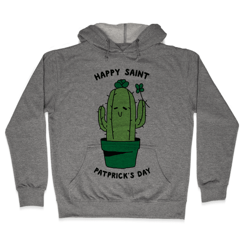 Happy Saint Patprick's Day Hooded Sweatshirt