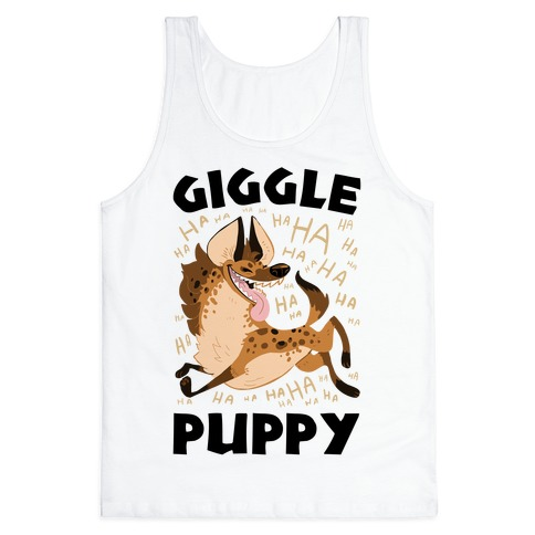 Giggle Puppy Tank Top