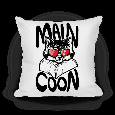 Main Coon Pillow