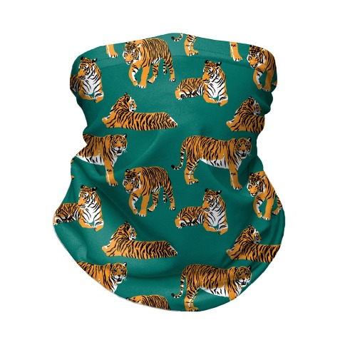 Tiger Pattern Neck Gaiter