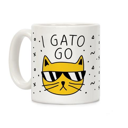 I Gato Go Coffee Mug