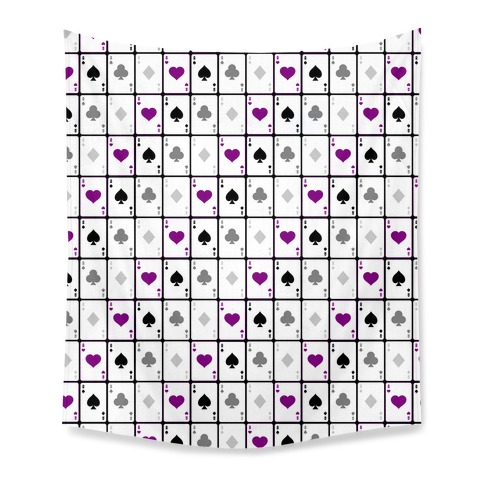 Asexual Aces Pattern Tapestry