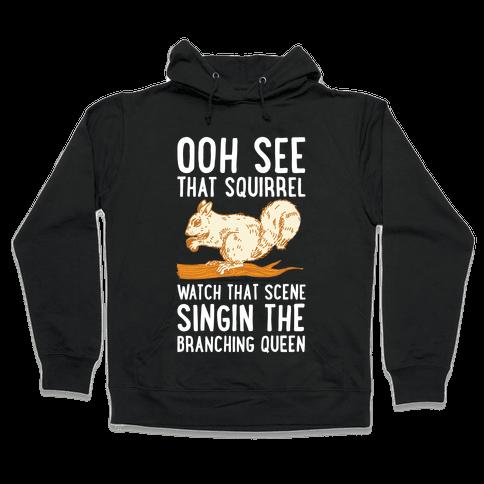 Branching Queen Hooded Sweatshirt