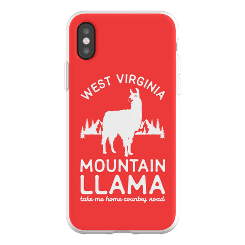 Mountain Llama Take Me Home Phone Flexi-Case