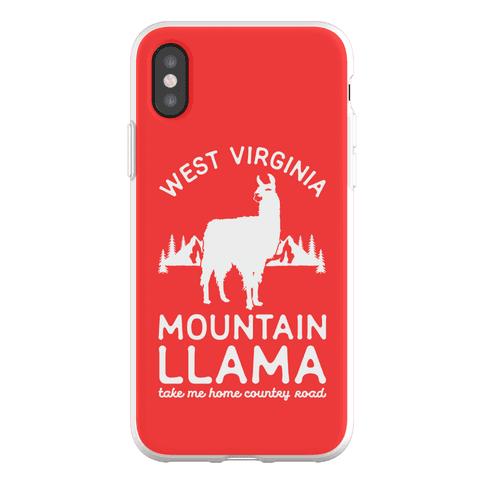 Mountain Llama Take Me Home Phone Flexi-Case