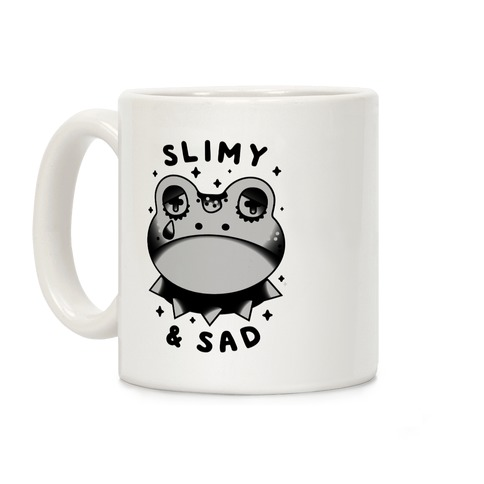 Slimy & Sad Frog Coffee Mug