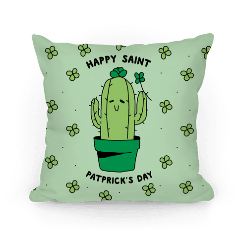 Happy Saint Patprick's Day Pillow