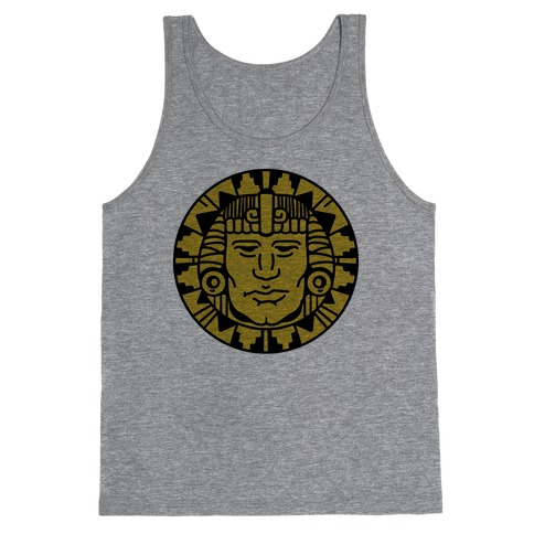 Hidden Temple Olmec Coin Tank Top