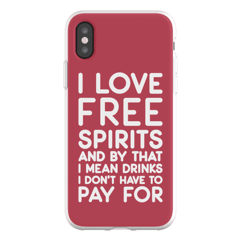 I Love Free Spirits Phone Flexi-Case